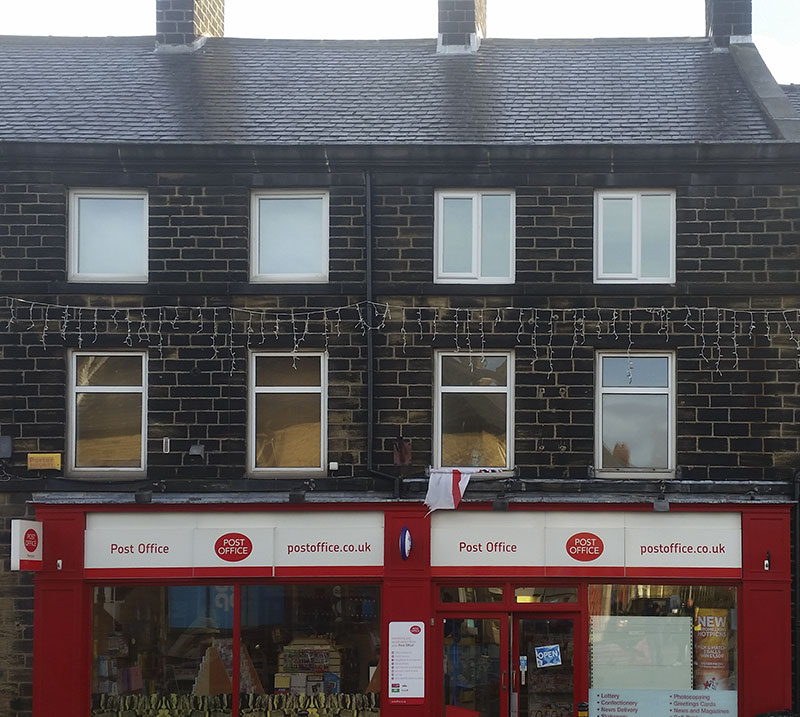 Commercial roofing: Penistone Post Office