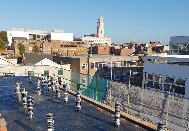 Commercial Roofing in Barnsley