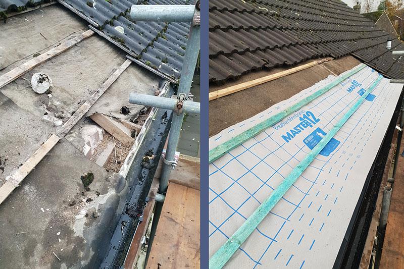 Roofing repairs in Hoylandswaine, nr Barnsley